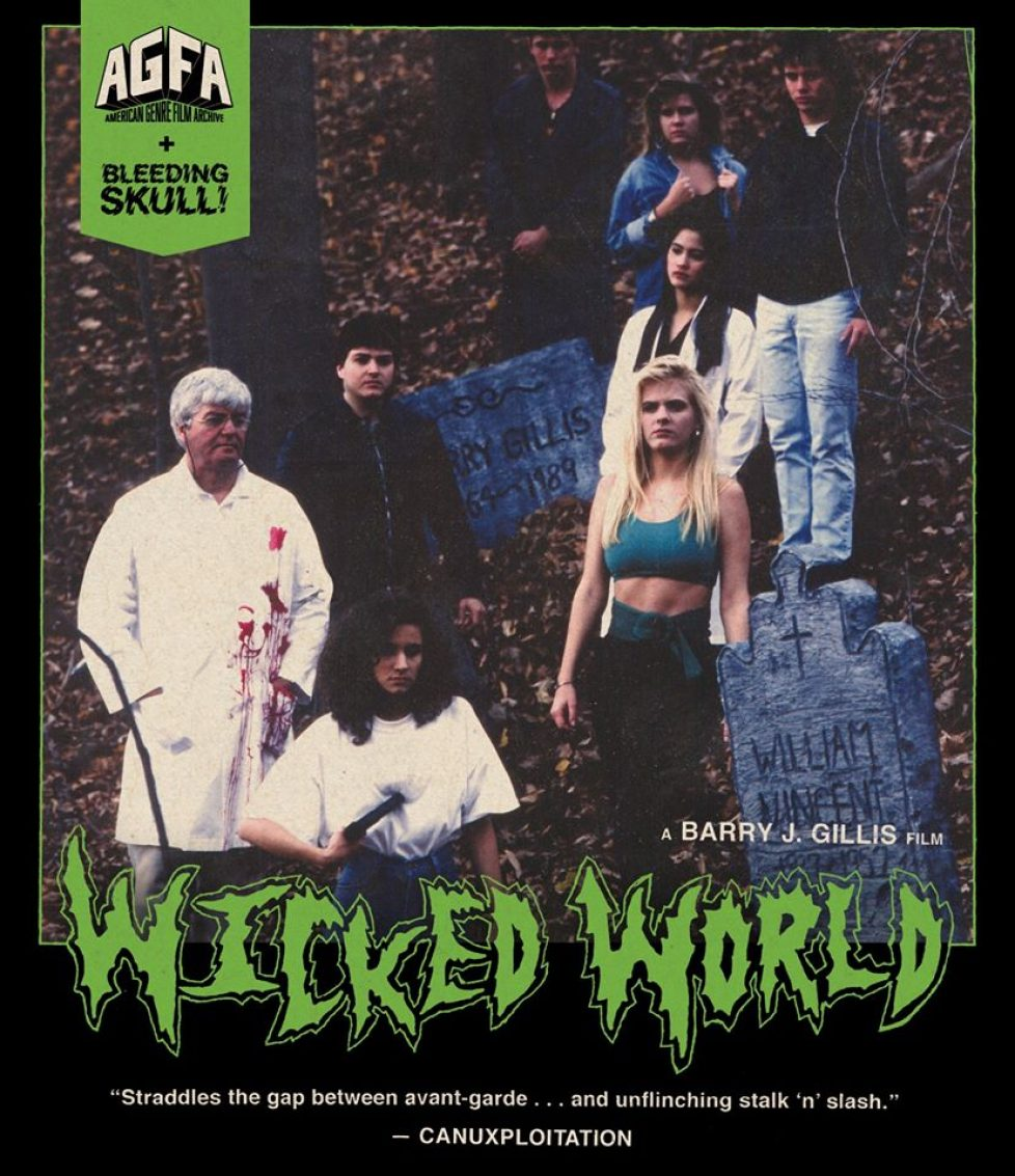 Bluray Dvd Wicked World Horror
