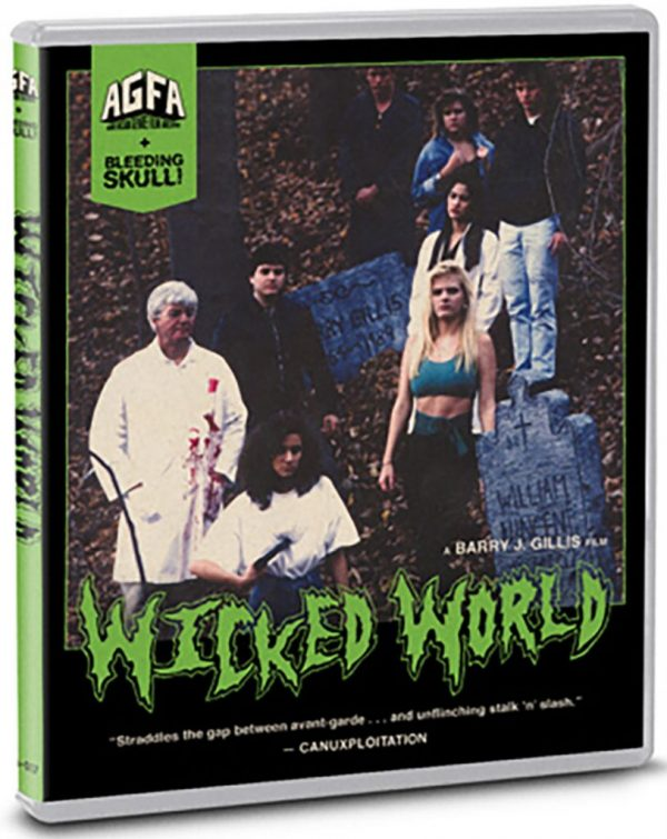 Wicked World, Barry J. Gillis, AGFA, 1991, Horror, Bluray, DVD, 1991 Movie